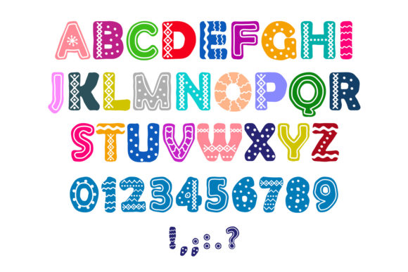 Gingerbread Font Preview