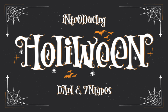 Print on Demand: Holiween Display Font By Dani (7NTypes)