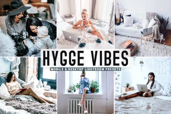 Print on Demand: Hygge Vibes Pro Lightroom Presets Graphic Actions & Presets By Creative Tacos