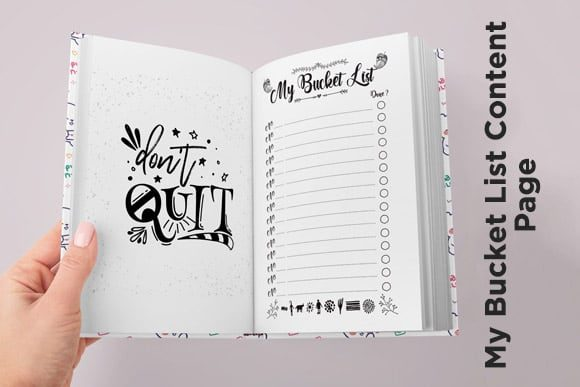 Print on Demand: KDP Couples Bucket List Journal Interior Graphic KDP Interiors By Queen Dreams Store - Image 5