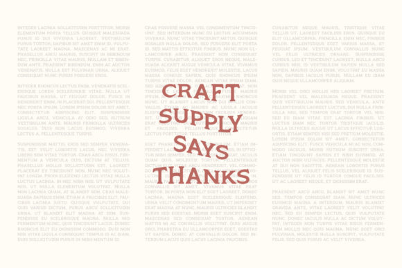 Print on Demand: Monsier Serif Font By craftsupplyco - Image 6