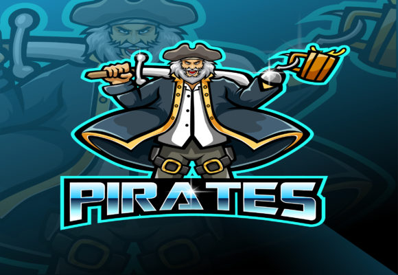 Pirates Mascot Gaming Esport Mascot Logo Graphic Illustrations By visink.art