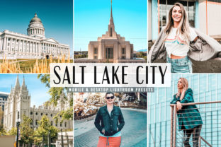 Print on Demand: Salt Lake City Pro Lightroom Presets Graphic Actions & Presets By Creative Tacos