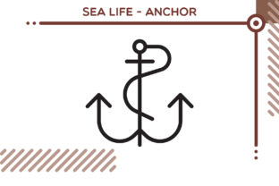 Sea Life Icon - Anchor Graphic Icons By freddyadho
