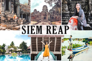 Print on Demand: Siem Reap Pro Lightroom Presets Graphic Actions & Presets By Creative Tacos