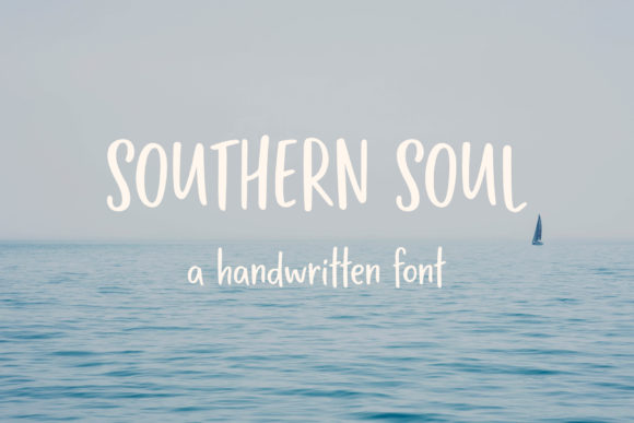 Print on Demand: Southern Soul Script & Handwritten Font By MoonLake
