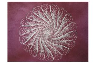 Spiral Fantasy House & Home Embroidery Design By Carol Undy