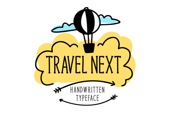 Print on Demand: Travel Next Serif Font By Seemly Fonts - Image 1