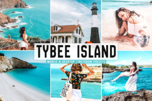 Print on Demand: Tybee Island Pro Lightroom Presets Graphic Actions & Presets By Creative Tacos
