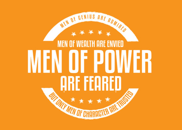 Print on Demand: Men of Power Are Feared Graphic Illustrations By baraeiji