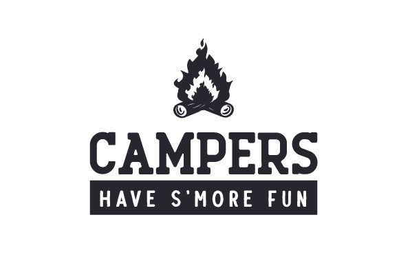 Campers Have S'more Fun Nature & Outdoors Craft Cut File By Creative Fabrica Crafts