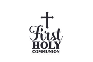 First Holy Communion Religious Craft Cut File By Creative Fabrica Crafts