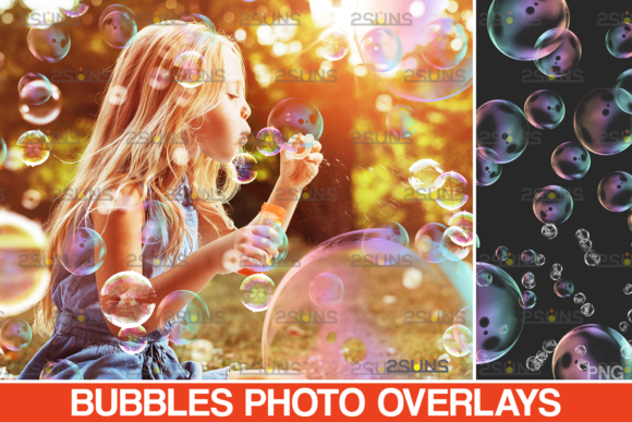 30 Photoshop Overlay: Bubble Overlays Graphic Actions & Presets By 2SUNS