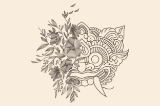 Barong and Rose Illustration Graphic Illustrations By byemalkan