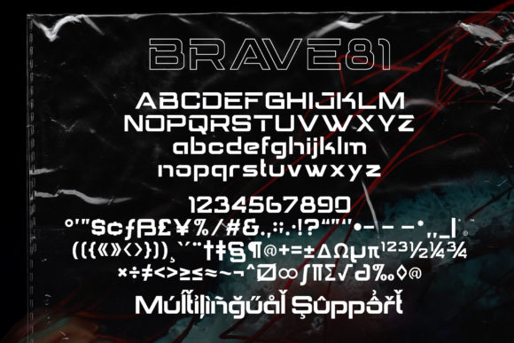 Brave Eighty One Font Download