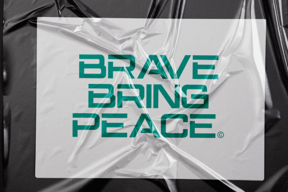 Brave Eighty One Font Design