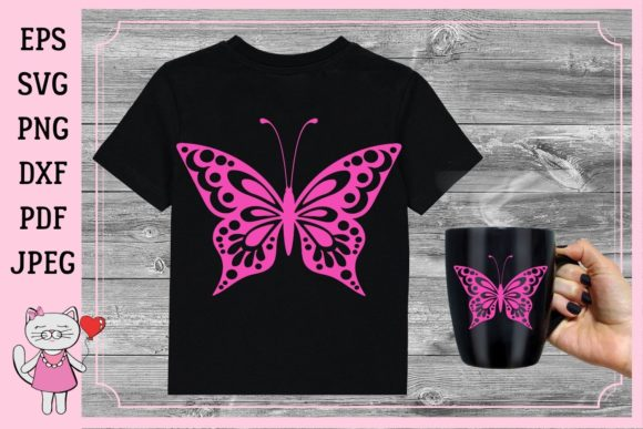 Butterfly | Vector Files Graphic Illustrations By  Magic world of design