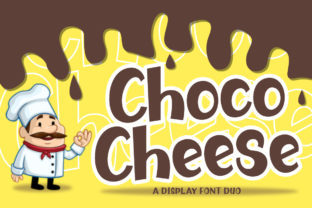 Print on Demand: Choco Cheese Display Font By Typerex