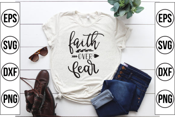 Faith over Fear Graphic Crafts By Craft Store