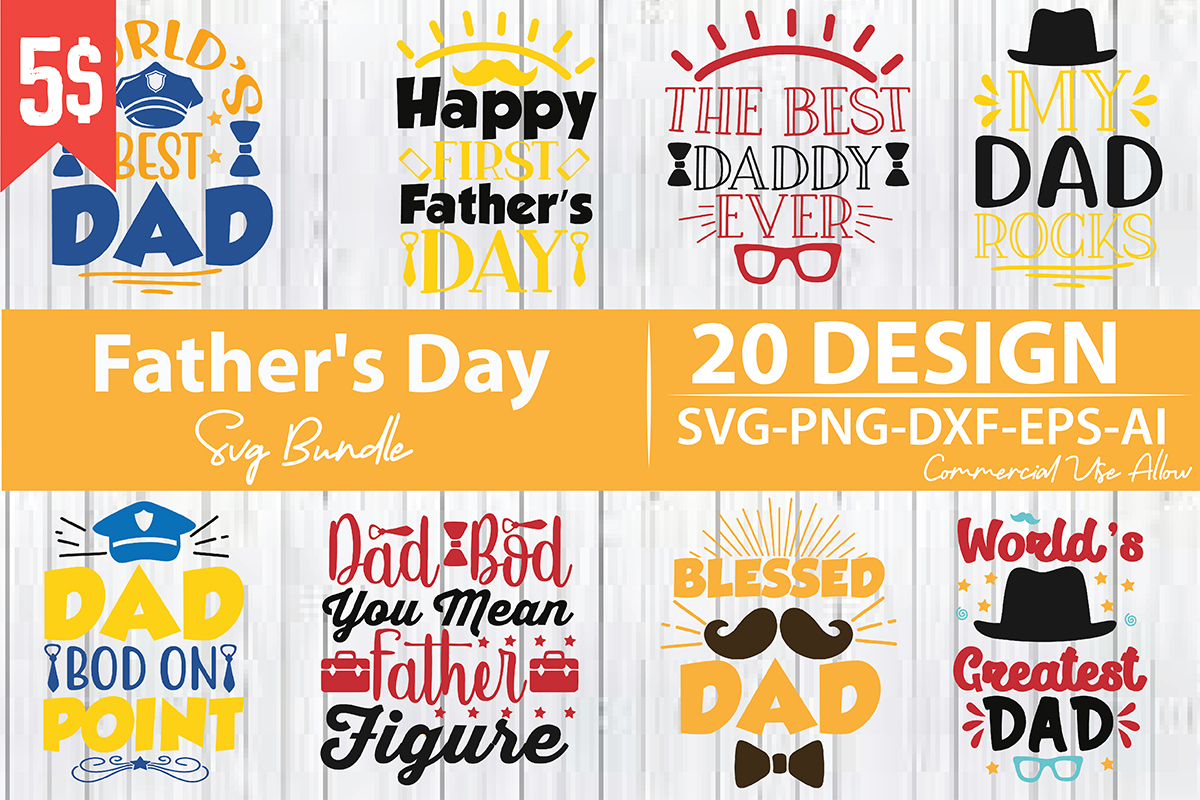 Free All american svg autism and cancer svg birthday svg black history month camping svg cancer svg cannabis svg christian svg christmas svg disney svg dr. Father S Day Svg Bundle Bundle Creative Fabrica SVG, PNG, EPS, DXF File