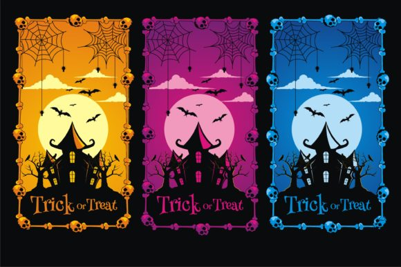 Print on Demand: Halloween Scary Best Illustration Graphic Illustrations By edywiyonopp