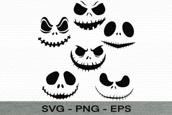 Halloween Ghost Face Doodle Graphic Illustrations By Digital ideas Art