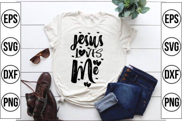 Jesus Loves Me Graphic Crafts By Craft Store