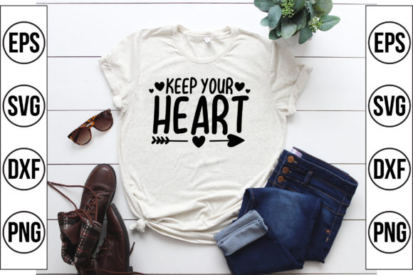 Keep Your Heart Graphic Crafts By Craft Store