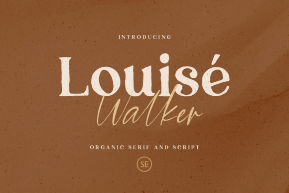 Print on Demand: Louise Walker Script & Handwritten Font By saridezra
