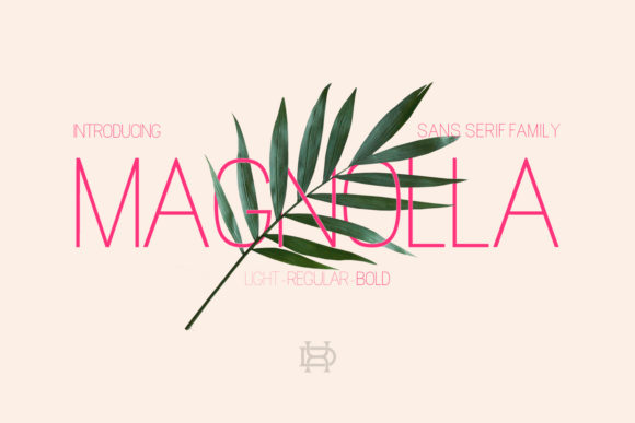 Print on Demand: Magnolla  Sans Serif Font By Dxsign
