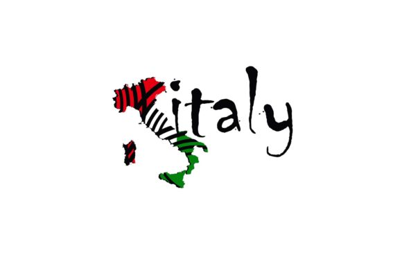 Map Italy Color National Flag Logo Icon Graphic Logos By sore88