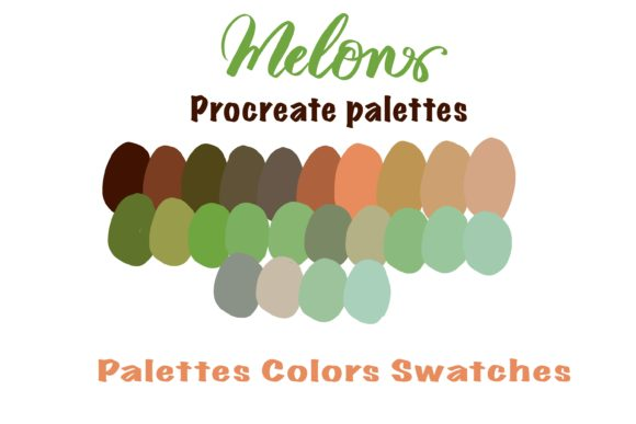 Melons Colors Instant Download Color Graphic Add-ons By Poycl Jazz