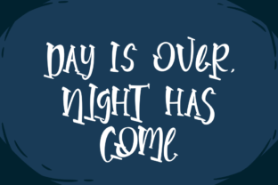 Print on Demand: Parallel Night Display Font By Rvandtype 3