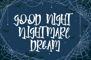 Print on Demand: Parallel Night Display Font By Rvandtype 6