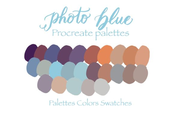 Photo of Blue in Palette Graphic Add-ons By Poycl Jazz