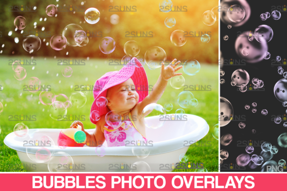 Photoshop Overlay: Bubble Overlays Graphic Actions & Presets By 2SUNS
