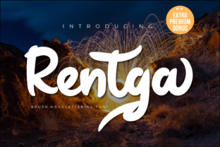 Print on Demand: Rentga Display Font By Productype