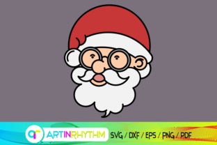 Santa, Santa Claus Graphic Crafts By artinrhythm