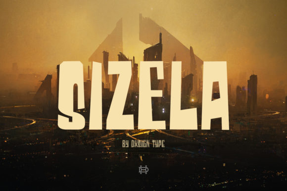 Print on Demand: Sizela Display Font By Dxsign