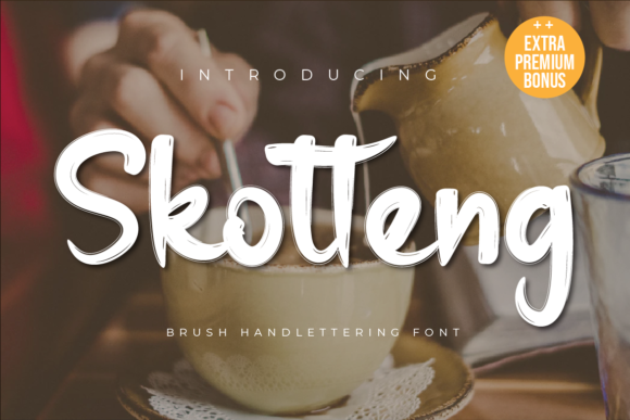Print on Demand: Skotteng Display Font By twinletter