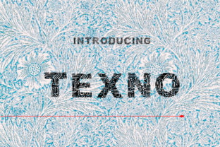 Print on Demand: Texno Display Font By Designs_by_Shorty