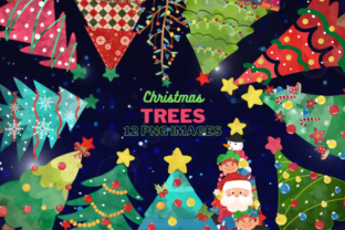 Watercolor Christmas Tree Clipart Graphic Illustrations By Artsy Pantsy
