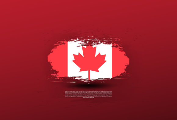 Canada Flag Graphic Icons By lastroll studio