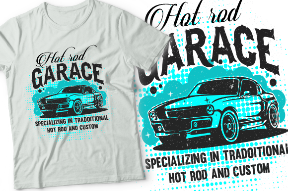 Car Design T-shirt Graphic Graphic Print Templates By walidhasan142s