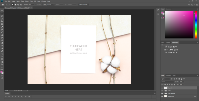 How to insert your Print on Demand designs on a Mockup