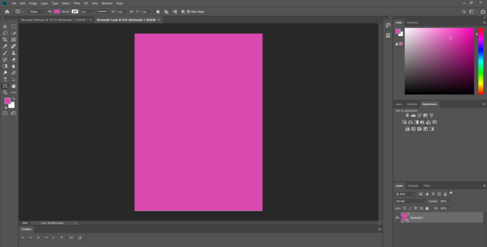 how to create mockups with Photoshop