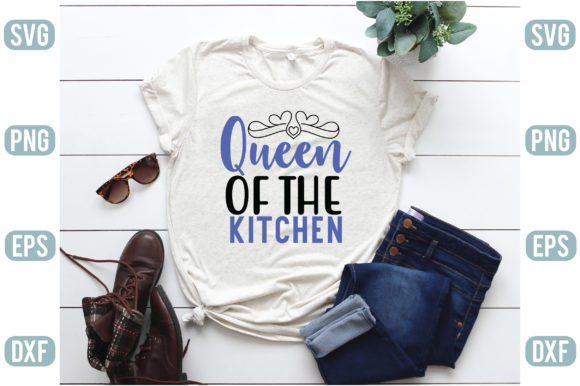 Queen of the Kitchen Graphic Crafts By creativejasim2
