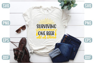 Surviving Fatherhood One Beer at a Time Graphic Crafts By craftstore