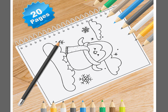 20 Penguin Coloring Pages Graphic Coloring Pages & Books By Coloring World