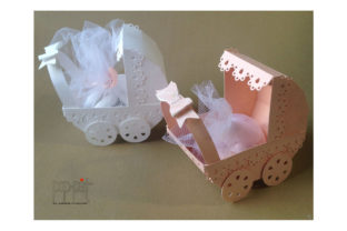 Baby Pram Graphic 3D SVG By patrizia.moscone